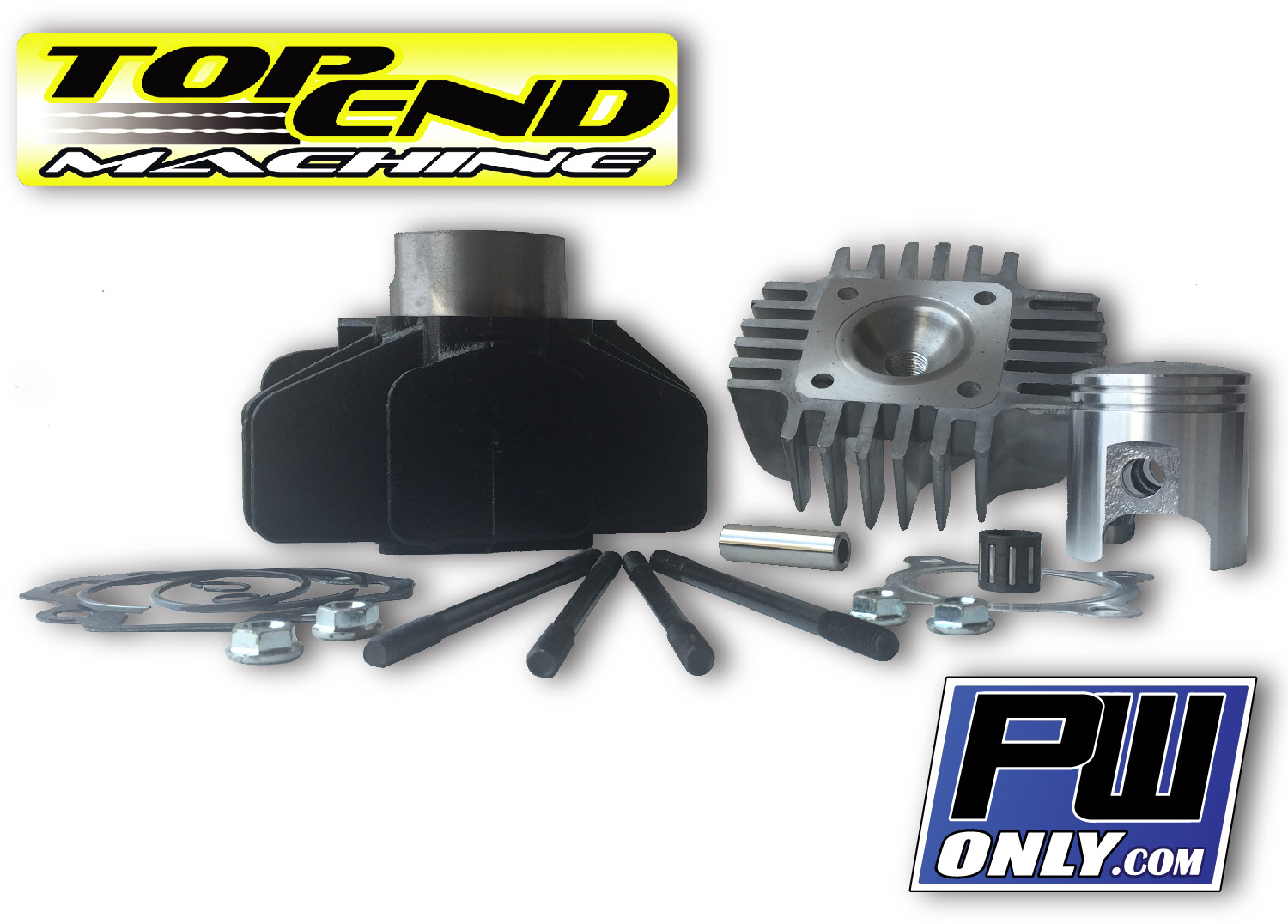 Details about  /Performance big bore kit 60cc for Yamaha BeeWee 50 YW50F 4T 50cc moped