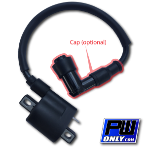 PW50 Ignition Coil with Cap (option)