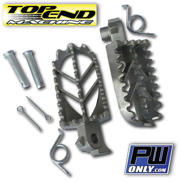 PW wide footpeg kit for pw80 or pw50