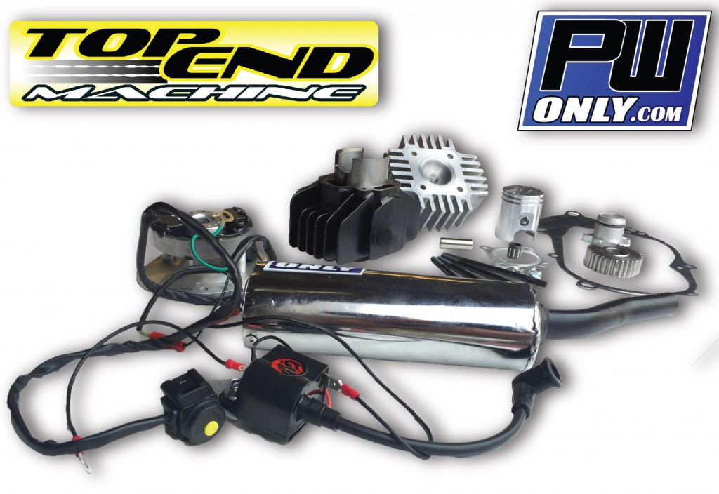 PW50 Big Bore Engine, Silencer, and Ignition Kit 2
