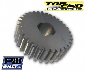 PW 50 transmission Gear top end