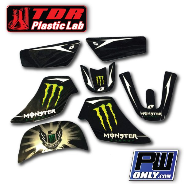 PW 50 Monster black Graphics for bike
