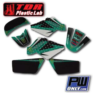 PW50 Monster Graphics dark green