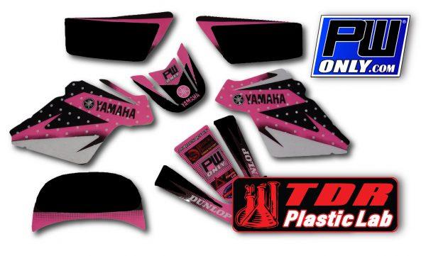 PW 50 Yamaha pink Graphics for bike