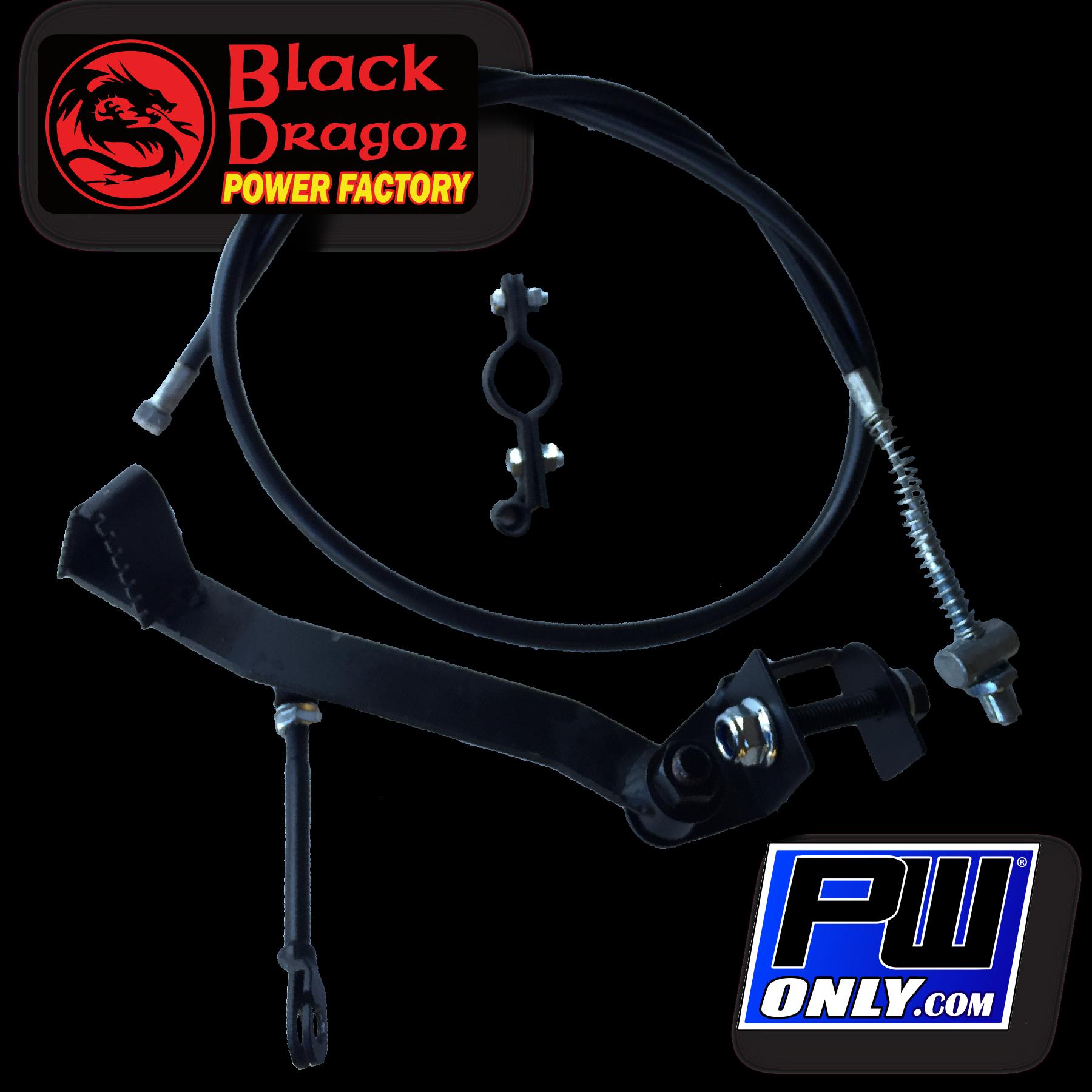 PW50 Complete Rear Brake Kit
