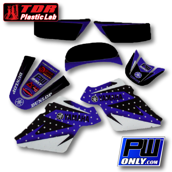 pw 50 blue graphic kit