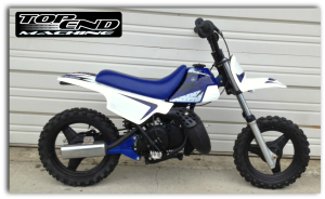 Yamaha-PW50-single-schock-rear-suspension-bike
