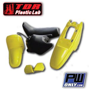 yamaha pw 50 yellow plastic kit