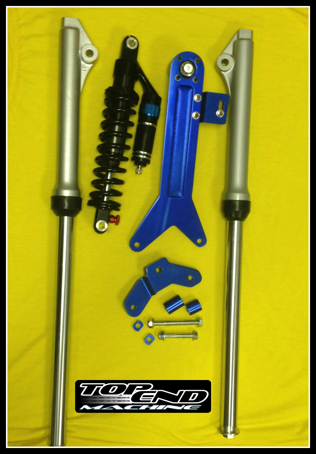 pw50-single-shock-rear-suspenison-with-forks - PWOnly com - Yamaha