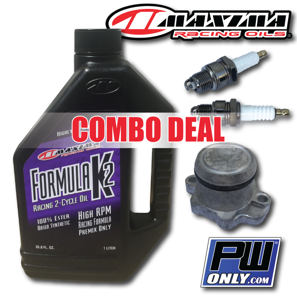 PW Oil Injector Block Off Plug and Maxima Formula K2