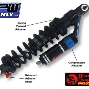 PW 80 Full Adjustable Shock