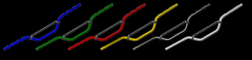 Anodized handlebars pw50