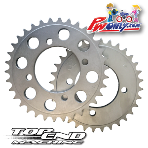 pw80 rear sprocket