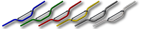 Anodized handlebars pw50 small