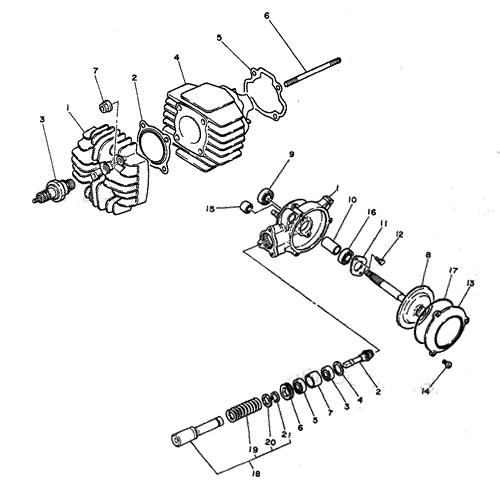Pw50cylinderdriveshaft Yamaha 50 Engine Diagram At Hrqsolutionsco: Yamaha 50 Engine Diagram At Hrqsolutions.co