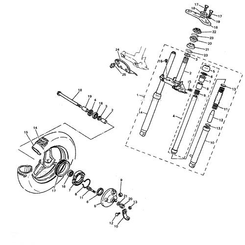 Verrassend Yamaha PW50 PW80 Schematics - PWOnly.com - Parts Diagrams DO-91
