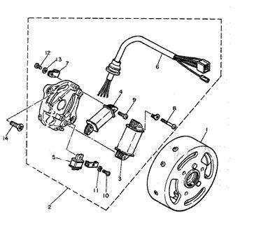 Yamaha Pw50 Pw80 Schematics