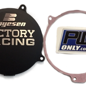 PW50 ALUMINIUM BOYESEN IGNITION COVER PLUS GASGET BLACK